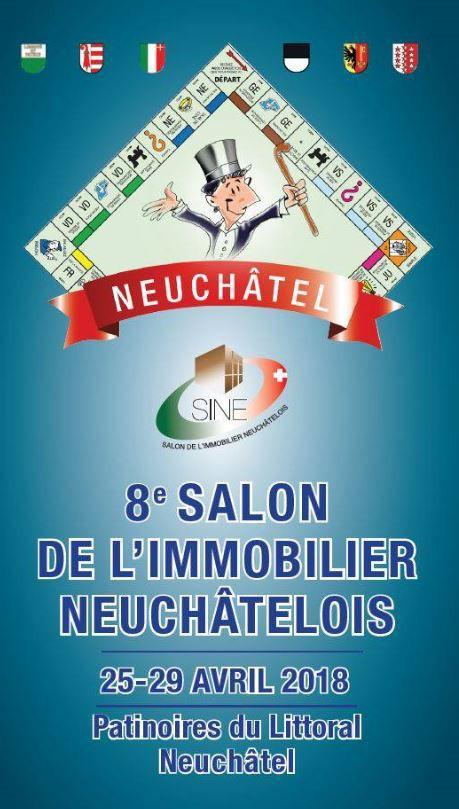 Brochure du salon de l'immobilier Neuchâtelois, édition 2018