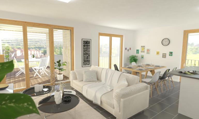 Les Rives de Bramois – Appartements C24, D24