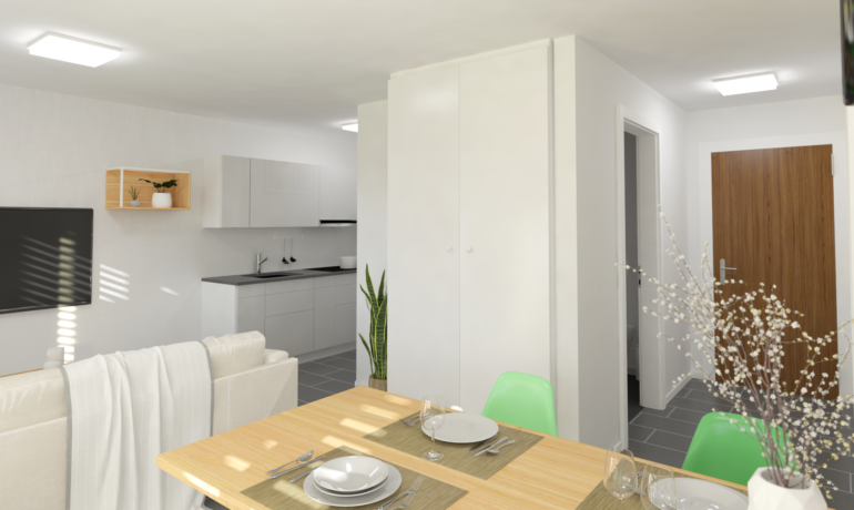 Les Rives de Bramois – Appartements A25, C15, D15