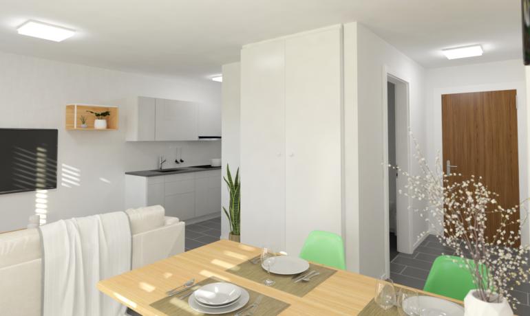Les Rives de Bramois – Appartements A25, C15, D15