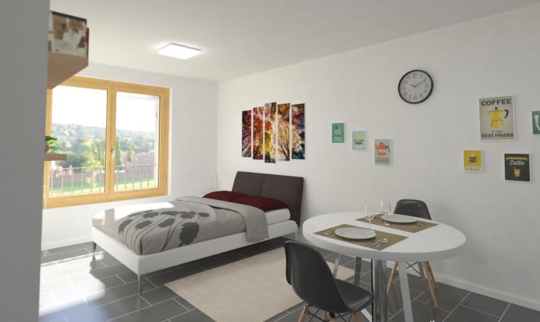 Les Rives de Bramois – Appartements A39, B39, C29, D29, D39