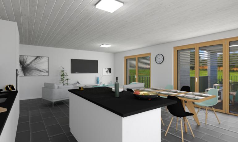 Les Rives de Bramois – Appartements A26, B16, B26, C16