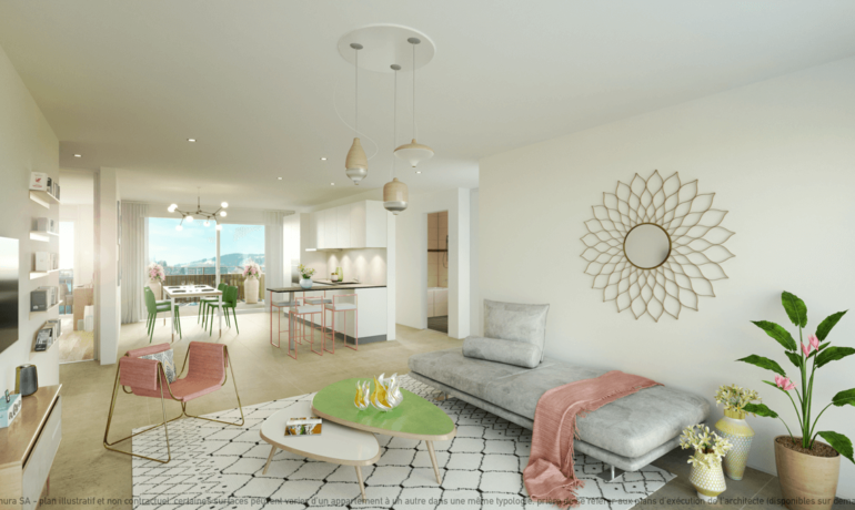 L'Esplanade Bulle : Appartement B2.1