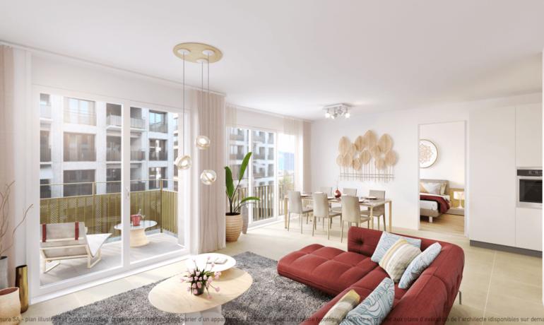 L'Esplanade Bulle : Appartement B2.3