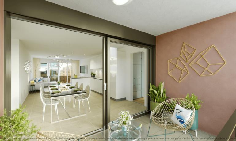 L'Esplanade Bulle : Appartement B2.4