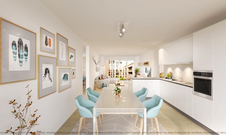 L'Esplanade Bulle : Appartement C2.1