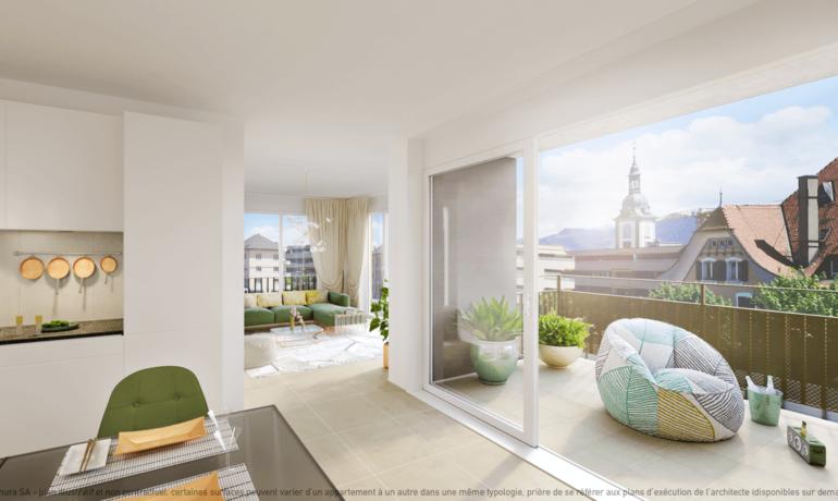 L'Esplanade Bulle : Appartement C2.3