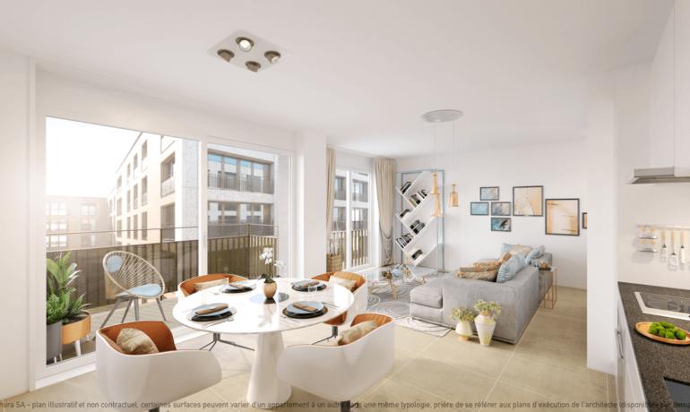 L'Esplanade Bulle : Appartement C2.4