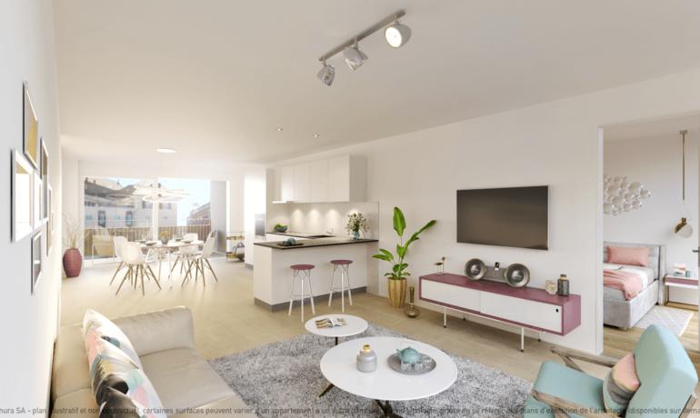 L'Esplanade Bulle : Appartement C2.5