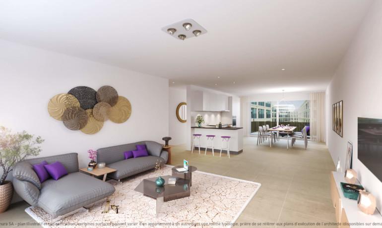 L'Esplanade Bulle : Appartement D2.4