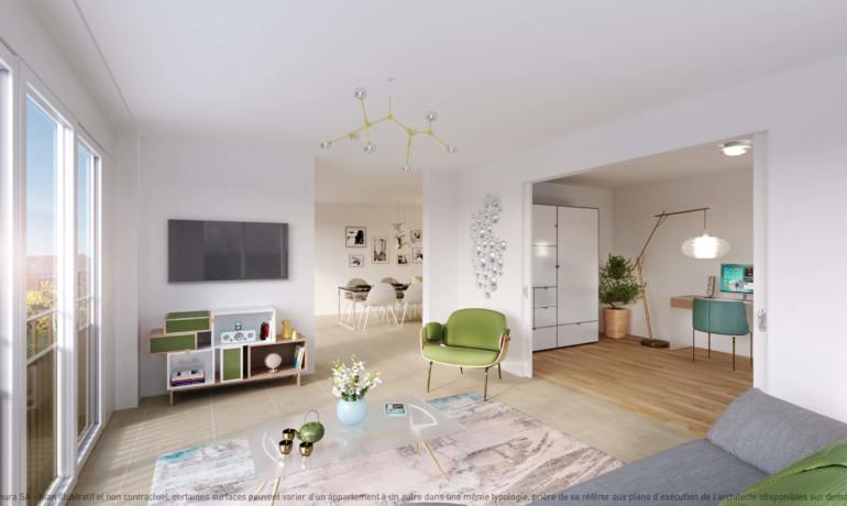 L'Esplanade Bulle : Appartement F2.3