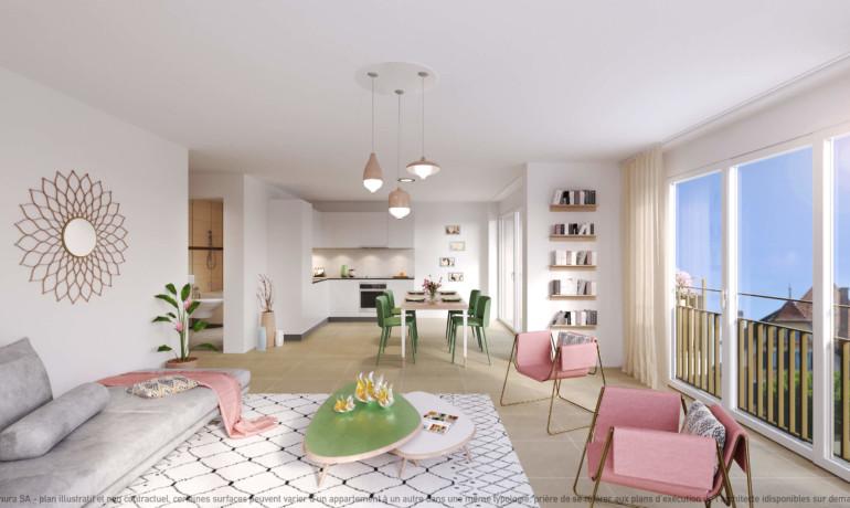 L'Esplanade Bulle : Appartement G2.1